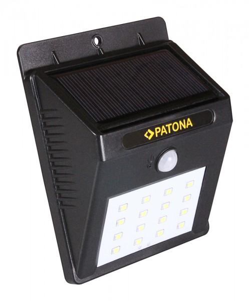 PATONA Solarlicht mit Bewegungssensor TR16