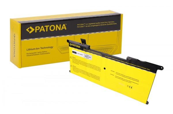 PATONA Battery f. Asus UX21 Series Ultrabook UX21 UX21A UX21E UX21E-DH52 C23U