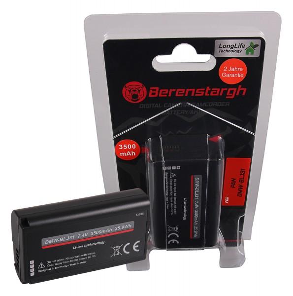 Berenstargh Battery f. Panasonic DMW-BLJ31 Lumix DC-S1 DC-S1R DC-S1H