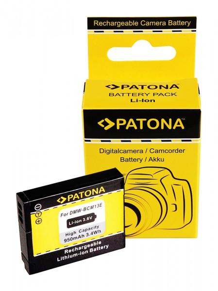 PATONA battery f. Panasonic DMW-BCM13 DMC-ZS30 DMC-TZ40 DMC-TZ41 DMC-TS5 DMC-FT5