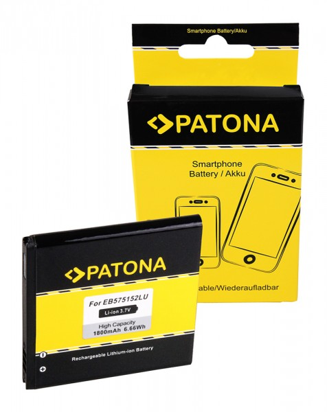 PATONA Akku für Samsung i8250 I589 I897 I9000 i9000 Galaxy S I9001