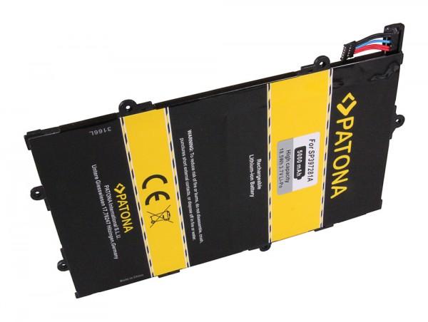 PATONA Battery f. Samsung Galaxy Tab 7.7 Galaxy GT-P6810 P6800 SCH-I815 Tab 7.7