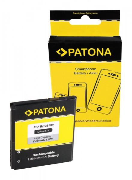 PATONA Akku f. HTC A9191 Inspire 4G T8788 Desire HD Ace MyTouch HD