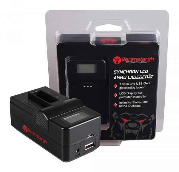 Berenstargh Synchron USB Ladegerät f. GoPro Gopro Hero 5 Hero 5 Gopro Hero 5 Hero 5