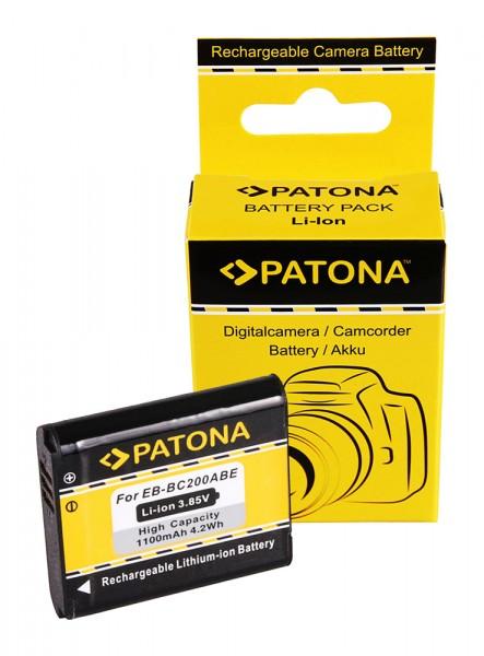 PATONA Battery f. Samsung Gear 360 EB-BC200ABE SM-C200 GH43-04