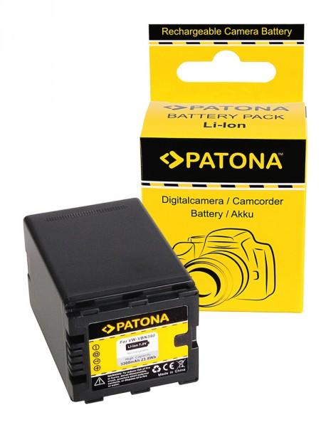 PATONA Akku f. Panasonic VW-VBN390 VW-VBN260 VW-VBN130 HDC-SD800