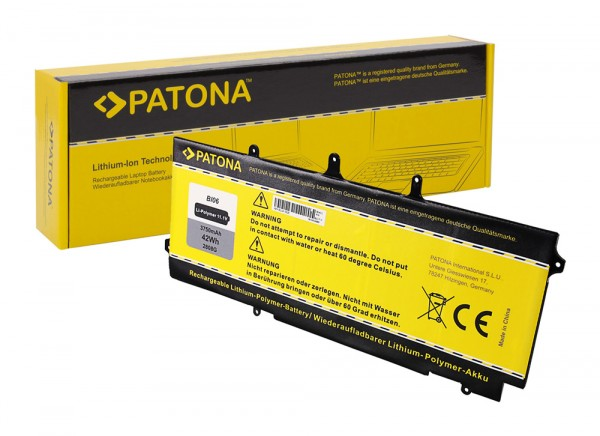 PATONA Battery f. HP EliteBook 1040 Serie 722236-171 722236-1C1 BL06042XL HSTNN-DB5D