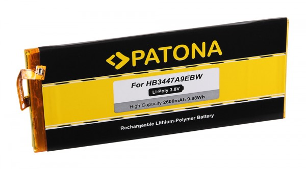 PATONA Battery f. Huawei P8, GRA-L09, GRA-UL00, GRA-UL10 Dual Sim, HB3447A9EBW