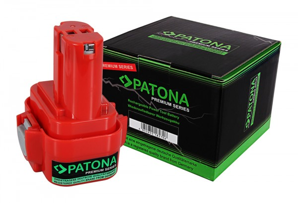 PATONA Battery f. Makita 9133 6500 4190DW 6203D 6203DWAE 6204D 6207D