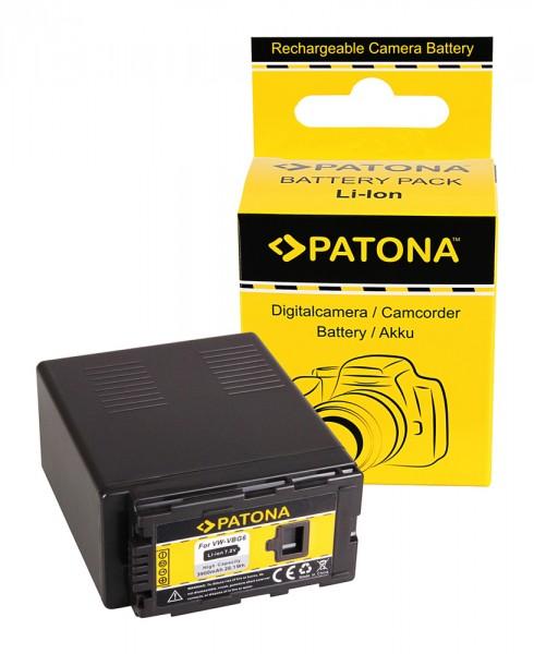 PATONA Akku f. Panasonic VW-VBG6 AG-HCM41 AG-HCM41EU AG-HMC70 AG-HMC71