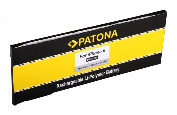 PATONA Battery f. Apple iPhone 6 616-0804 616-0805 616-0809, A1549 A1586