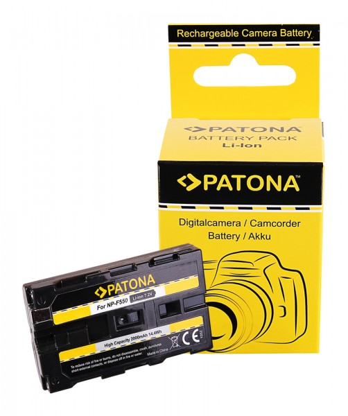 PATONA Battery f. Sony NP-F550 F330 F530 F750 F930 F920 F550, CCD-SC