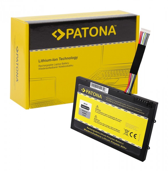 PATONA Battery f. Dell M11x M14x PT6V8 8P6X6 08P6X6 KR-08P6X6 T7YJR P06T