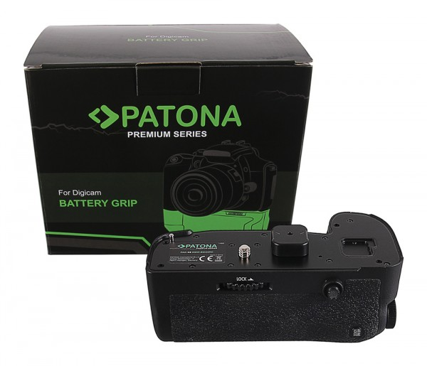 PATONA Premium Battery Grip for Panasonic G9 DMW-BGGH9RC for 1 x DMW-BLF-19 batterie incl. 2,4G wireless control
