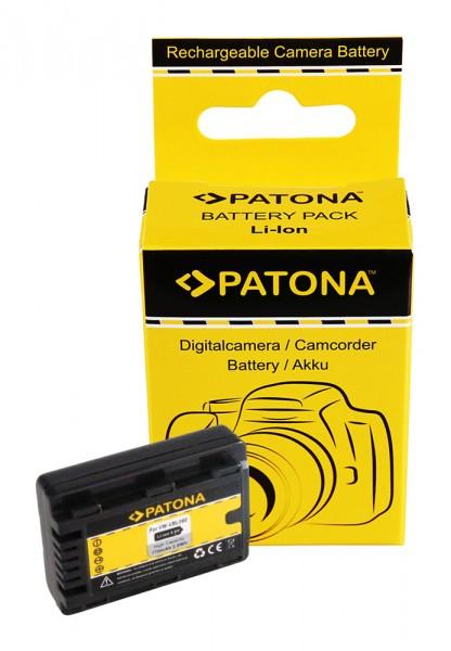 PATONA Akku f. Panasonic HDC-SDX SDR-S50 T50 VW-VBL090E-K VBL090