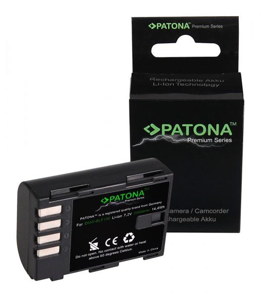 PATONA Premium Battery f. Panasonic Lumix DMC-GH3 GH3A GH4 DMW-BLF19