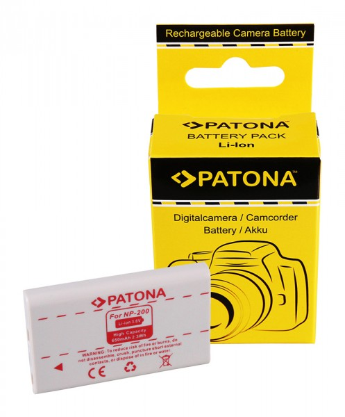 PATONA Akku f. Minolta Dimage NP200 NP-200 X/Xg/Xi/Xt