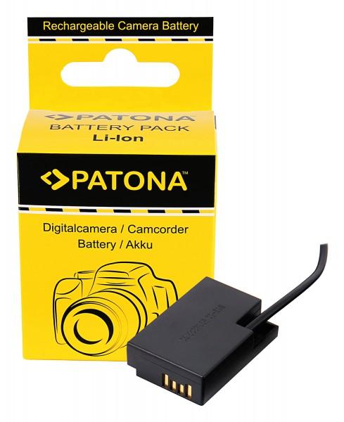 PATONA D-TAP Input Akku-Adapter für Canon LP-E17 EOS 200D 750D 760D 800D Kiss X8i Rebel