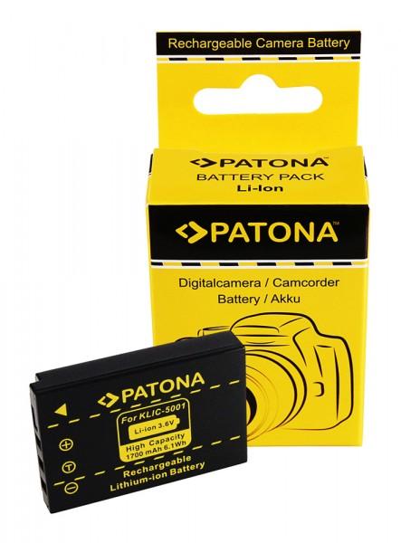 PATONA Akku f. Kodak EasyShare Z730 DX7630 DX7590 Klic-5001