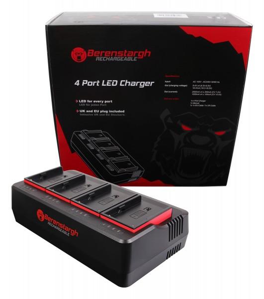 Berenstargh 4-fold Charger for Sony BP-U30 BP-U60 BP-U90 BP-U95