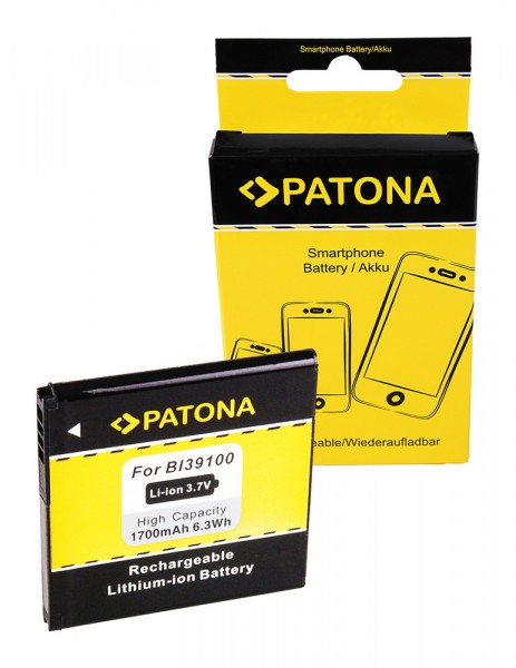 PATONA Battery for HTC X315e Bass Bliss Bunyip Eternity Rhyme Runnymede