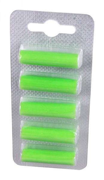 PATONA 5 Deo-Sticks, bâtonnets d'encens pour aspirateur vert