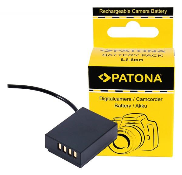 PATONA D-TAP Input Akku-Adapter für Fuji X-T3 VPB-XT3 NP-W126S HS33 EXR Fujifilm Finepix -Pro 1 HS30