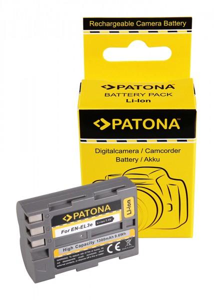 Battery f. NIKON D700 D300 D200 D100 D80 D70 D50 EN-EL3e