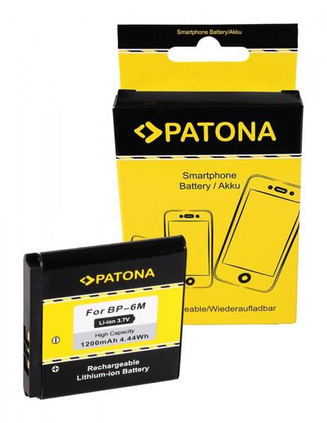 PATONA Batterie pour Nokia 9300 3250 6151 6233 6234 6280 6288 9300 9300i N73 N733