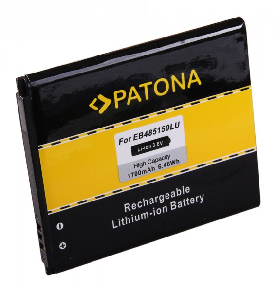 PATONA Batterie pour Samsung GT-S7710 Galaxy S7710 Xcover 2
