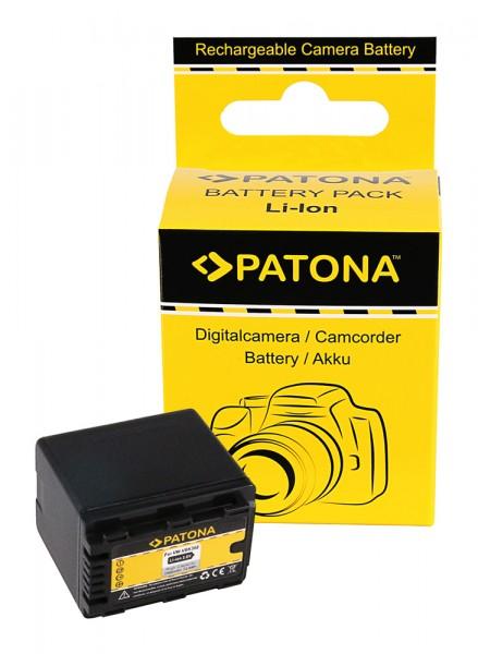 PATONA Akku f. Panasonic VW-VBK360 VBK360 VBK 360 +RESTLAUFANZEIGE