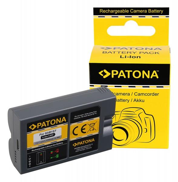 PATONA Akku 8AB1S7 f. Ring Video Doorbell 2 und Ring Spotlight Cam Solar