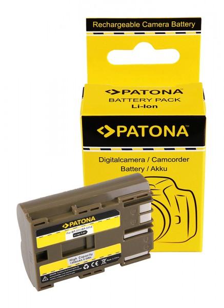 PATONA Akku f. Canon BP-511, BP-512 F. CANON EOS-D30 D60 G1,G2..