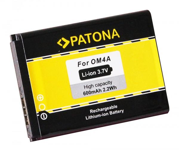 PATONA Batterie pour Motorola OM4A EX210 EX211 Gleam Gleam Plus WX160 WX180 WX260