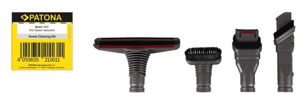 PATONA accessory set 4 pieces f. Dyson V9 Absolute Auslöser V8 V7 Fluffy Tier Tigger