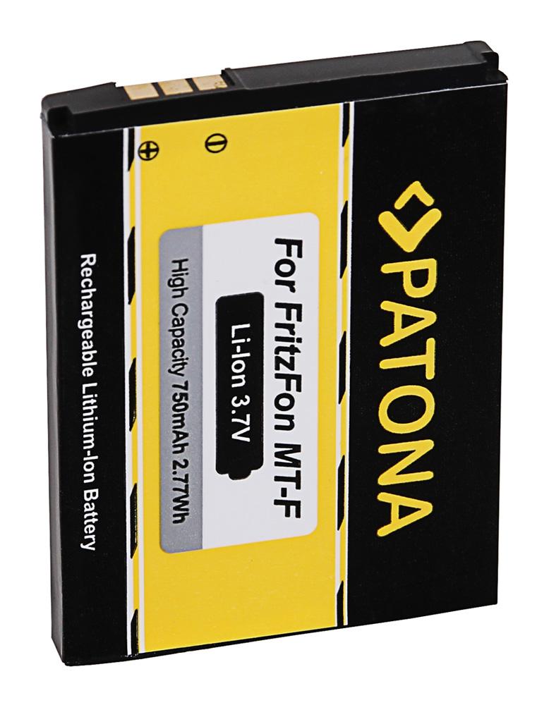 patona battery f avm fritz fon m2 c4 c5 312bat006 patona onlineshop. Black Bedroom Furniture Sets. Home Design Ideas
