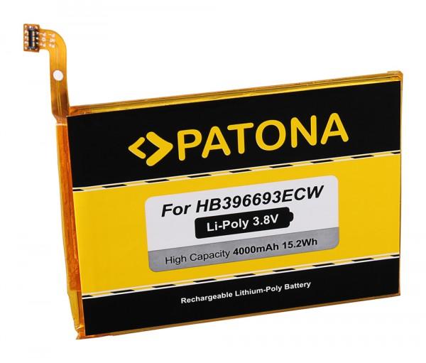 PATONA Battery f. Huawei Ascend Mate 8, Mate 8 Dual SIM, M200-UL00, MT8-TL00, MT8-TL10, HB396693ECW