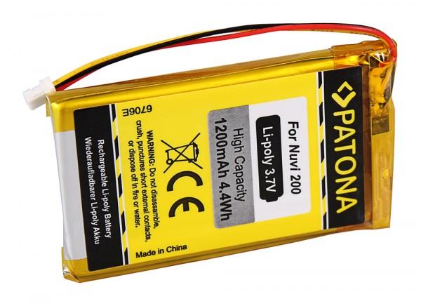 PATONA Batterie pour Garmin Nuvi 200 Nuvi 205 250 255 260 200W 205T 205W 205WT 252W