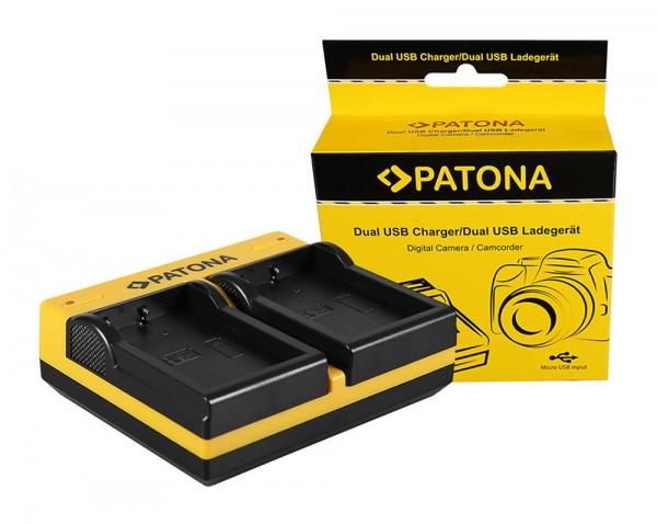 PATONA Dual LCD USB Chargeur pour Nikon Nikon EN-EL9 CoolPix D40 D40x D5000 D60