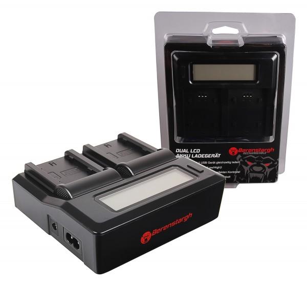 Berenstargh Synchron USB Charger f. Fuji NP-W235 Fujifilm X-T4 XT4