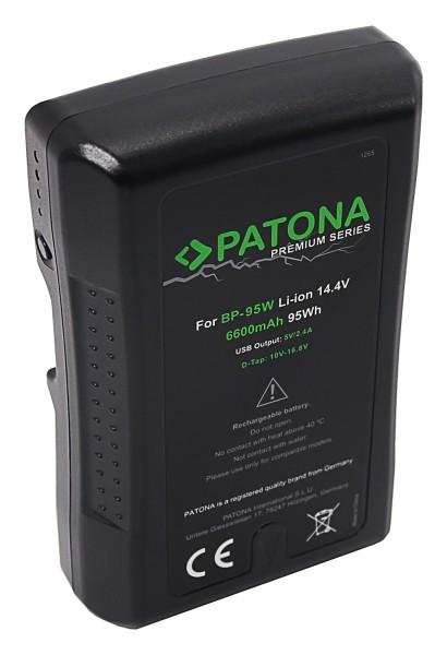 PATONA Premium Akku V-Mount 95Wh f. Sony BP95WS DSR 250P 600P 650P 652P