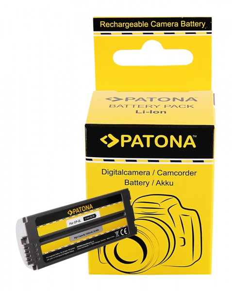 PATONA Akku f. Canon CP-200 CP300 CP-400 CP500 CS-CP2L NB-2CPL