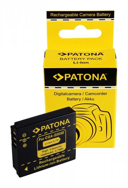 PATONA Akku f. Panasonic Lumix DMC-FX3 FX07 DMC-FX50 DMC-LX2 CGA-S005