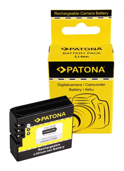 PATONA Battery f. AEE SD18 SD19 SD22 SD23 D30