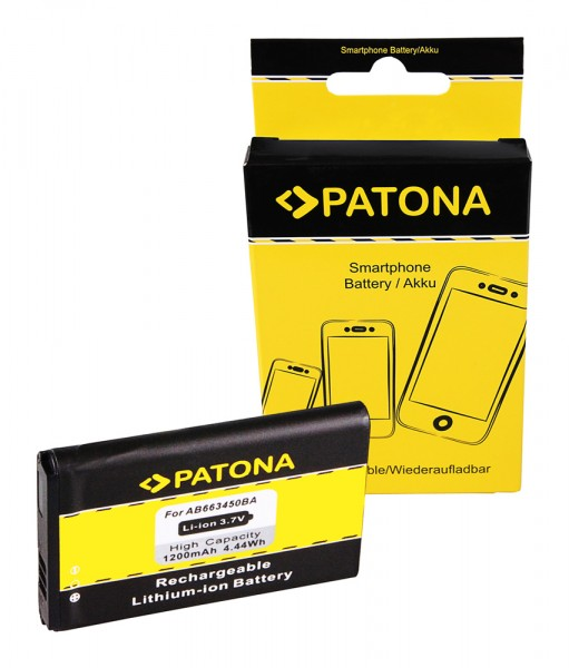 PATONA Battery f. Samsung A847 RUGBY II 2 AB663450BA Rugby 3 SGH A997 AT