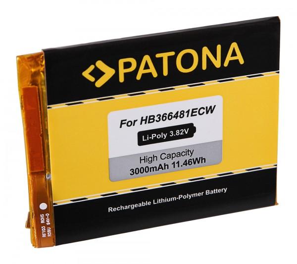 PATONA Battery f. Huawei Honor 8, P9, P9 Lite, P9 Lite Dual Sim, P9 Lite Dual Sim LTE, Venus, EVA-AL00, EVA-AL10, TL00, VNS-DL00, VNS-L23, HB366481ECW