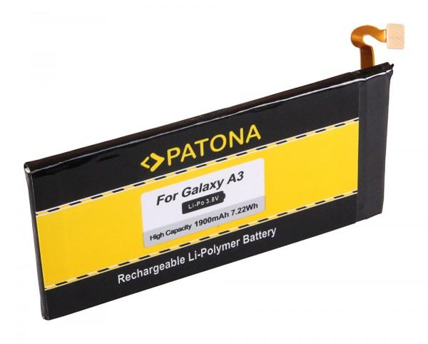 PATONA Battery f. Samsung Galaxy A3 A3000 A3009 A300X Galaxy A3 Duos SM-A300M