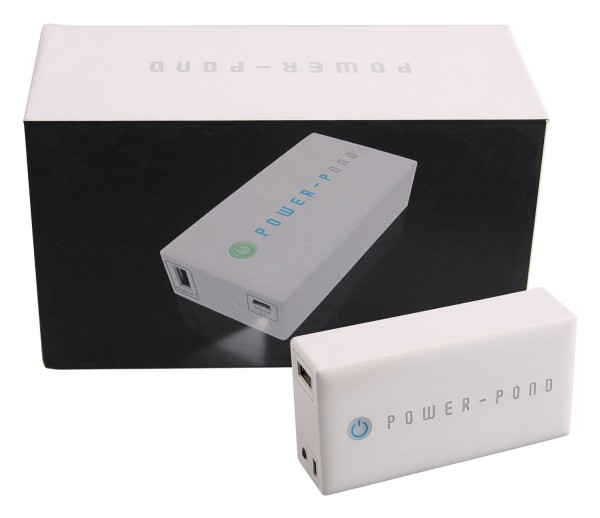 PATONA POWER-POND edle Powerbank f. iPhone iPad Smartphone Digicam