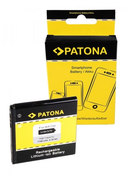 PATONA Akku f Sony Ericsson BA700 Xperia E C1504 / C1505 Xperia E Dual