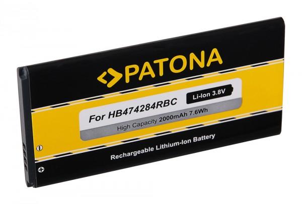 PATONA Batterie pour Huawei Honor G521 Ascend C8816 C8816D C8817 C8817E G521